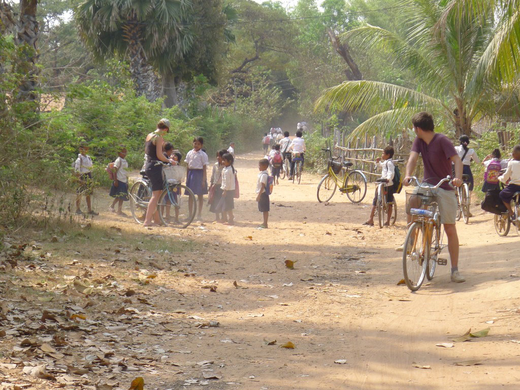 bicycle tour in Siem Reap