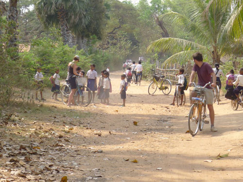 Cycling around Cambodia