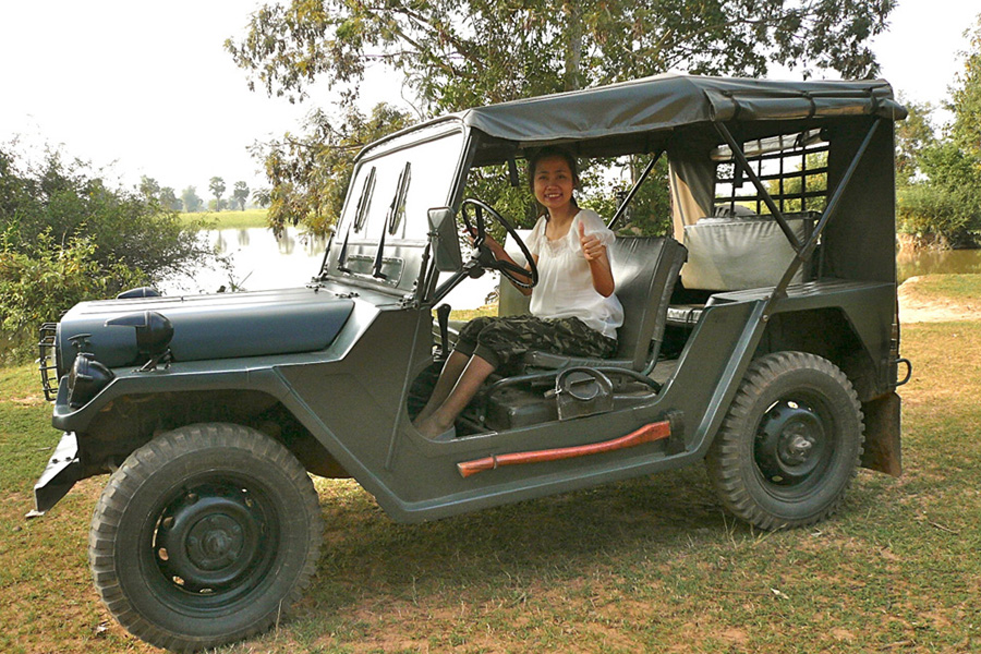 SIEM REAP PRIVATE JEEPCOUNTRYSIDE DAY TOUR